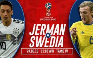 Nonton Jerman vs Swedia, Link Live Streaming TV Ada Disini