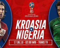 Nonton Kroasia vs Nigeria Di Live Streaming Trans TV 02.00