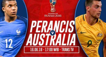 Prediksi Skor Prancis vs Australia, Tonton Langsung Di TransTV
