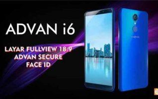 Harga, Desain dan Spesifikasi Advan i6 2018, Hp Keren 1 Jutaan