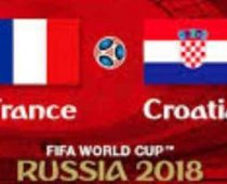 Kroasia vs Prancis, Final Prancis vs Kroasia, Juara Piala Dunia 2018