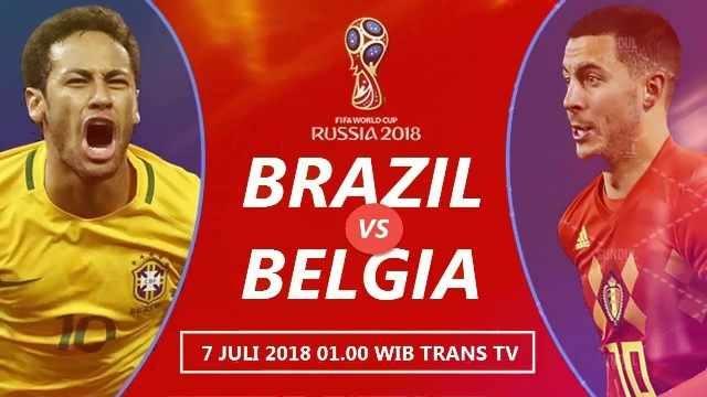 Nonton Brasil vs Belgia, Live Striming TransTV 01.OOWIB-OkPlay