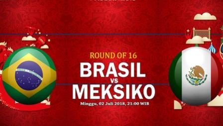Nonton Brasil vs Meksiko, TransTV Live Streaming 21.00wib