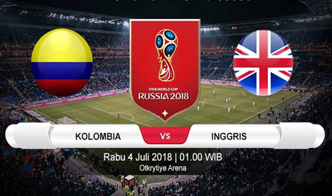 Nonton Kolombia vs Inggris, Live Streaming TransTV