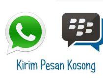 Trik WA, Cara Kirim Pesan Whatsapp Kosong Teks Tanpa Isi