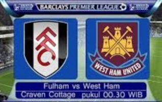 NontoN Fulham vs West Ham Di RCTI, Share Prediksi dan Statistik