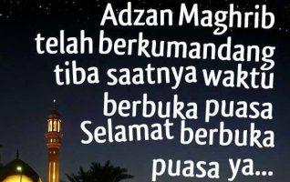 Kata Kata Menunggu Adzan Maghrib Di Bulan Puasa