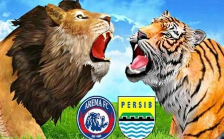 Nonton Arema vs Persib Jam Main 18.30wib Live Indosiar