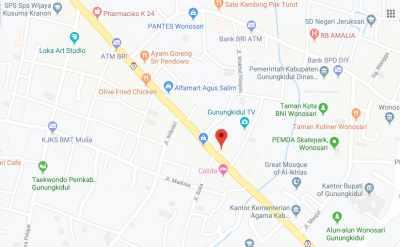 Peta Lokasi Hotel Anggraeni