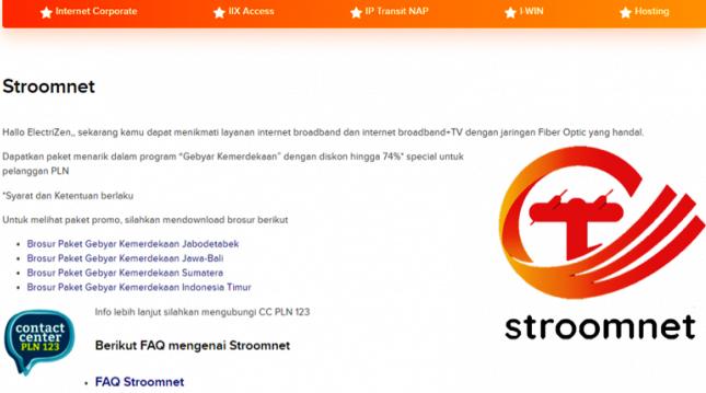 Harga StroomNet