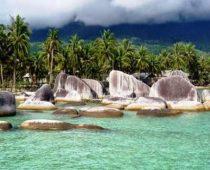 Potret Pantai Batu Kasah Natuna