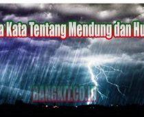 Kata Kata Tentang Mendung dan Hujan