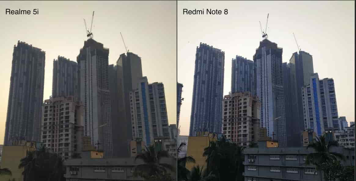 Kamera Realme 5i vs Redmi Note 8