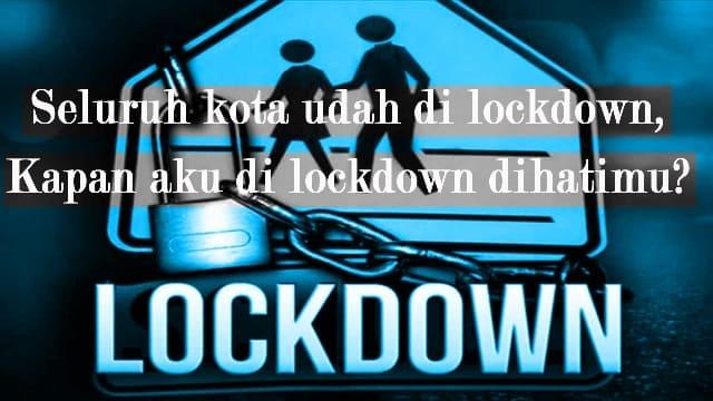 Kata kata lockdown