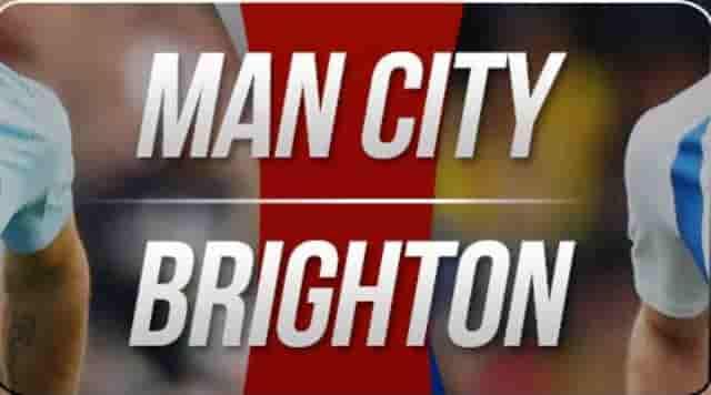 PrediksiMan City vs Brighton