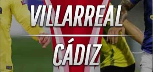 Prediksi Skor Villarreal vs Cadiz