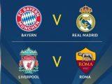 Jadwal Semifinal Liga Champions 2018 Leg 1 dan 2