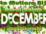 Kata Mutiara Bijak Awal Bulan Desember