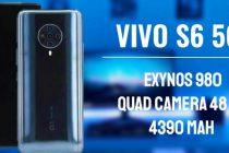 Mendukung 5G Vivo S6 Membawa Ram RAM 8GB dan Prosesor Exynos