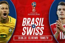 Nonton Brasil vs Swiss, Disini Link Live Streaming Trans TV