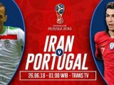 Nonton Iran vs Portugal, Trans TV Live Streaming