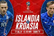 Nonton Islandia vs Kroasia, Trans7 Live Streaming TV Alternatif