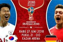 Nonton Korea Selatan vs Jerman, Trans TV Live Streaming