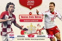 Nonton Kroasia vs Denmark, Trans TV Live Streaming 01.00 -KlikPlay