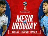 Nonton Mesir vs Uruguay TransTV Live Streaming
