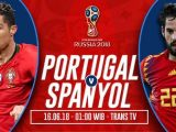Nonton Portugal vs Spanyol – Live Streaming Trans TV
