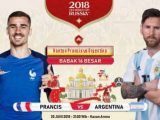 Nonton Prancis vs Argentina, Link Live Streaming Trans TV KlikPlay