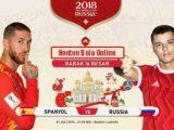 Nonton Spanyol vs Rusia, TV Live Streaming 21.00Wib-OkPlay