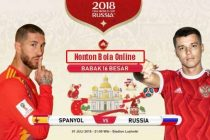 Nonton Spanyol vs Rusia, TV Live Streaming 21.00Wib-OkPlay
