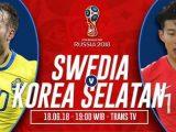 Nonton Swedia vs Korea Selatan, Link Live Streaming Trans TV