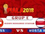 Nonton Swiss vs Kosta Rika, Link Live Streaming Trans 7