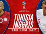Nonton Tunisia vs Inggris, Di Live Streaming Trans TV