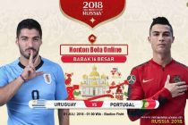 Nonton Uruguay vs Portugal, TV Live Streaming 01.00wib KlikPlay