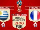 Nonton Uruguay vs Prancis, TV Live Stream 21.OOWIB KlikPlay