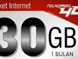 Paket Internet Telkomsel 30Gb Cuma 10 Rb