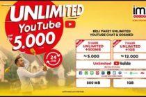 Paket Unlimited Youtube IM3 Ooredoo