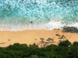 Pantai Nyang Nyang Selalu Ramai Meski Lokasi Tersembunyi