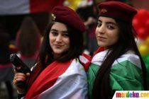 Pasukan Wanita Kurdi Yang Cantik4