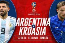 Prediksi Argentina vs Kroasia, Tempat Nonton Streaming Bola