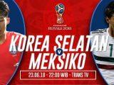 Prediksi Korea Selatan vs Meksiko, Link Nonton Streaming Bola