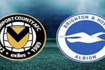Prediksi Newport vs Brighton
