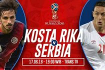 Prediksi Skor Kosta Rika vs Serbia