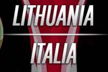 Prediksi Skor Lithuania vs Italia