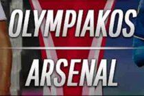 Prediksi Skor Olympiacos vs Arsenal