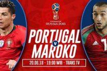 Prediksi Skor Portugal vs Maroko, Nonton Langsung Di Trans TV