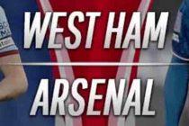 Prediksi Skor West Ham vs Arsenal